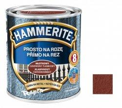 Hammerite Na Rdzę 0,7L CZERWONY TLENKOWY MŁOTKOWY hamerite farba