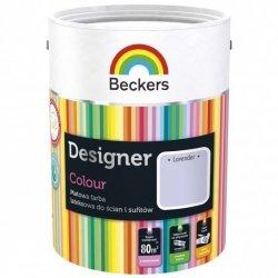 Beckers 5L LAVENDER Designer Colour farba lateksowa