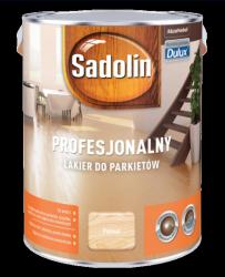 Sadolin Lakier Profesjonalny PÓŁMAT 5L parkietu dulux podłóg drewna