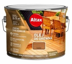 Altax olej do drewna 10L KASZTAN tarasów