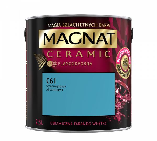 MAGNAT Ceramic 2,5L C61 Szmaragdowy Akwamaryn
