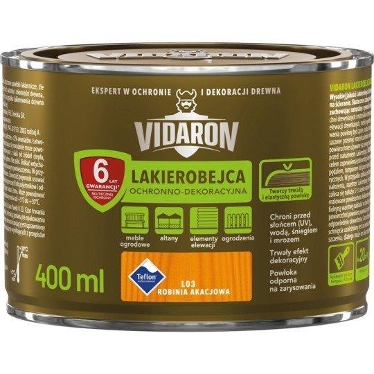 Vidaron Lakierobejca 0,4L L03 Robinia Akacjowa do drewna