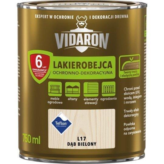 Vidaron Lakierobejca 0,75L L17 Dąb Bielony do drewna