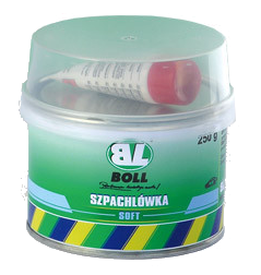 BOLL Szpachla Szpachlówka Soft Miękka 250g Samochodowa