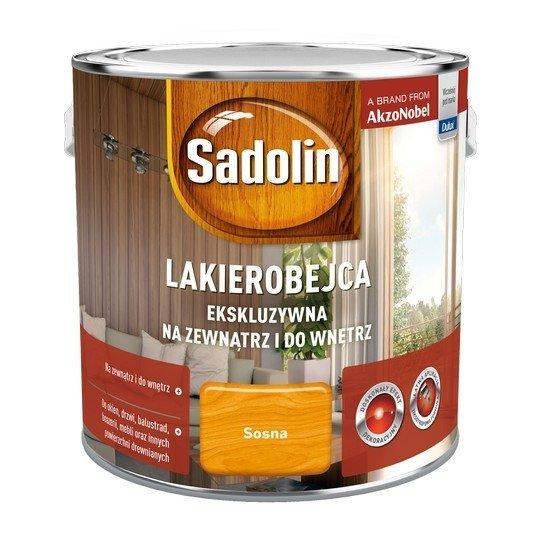 Sadolin Ekskluzywna lakierobejca 2,5L SOSNA drewna