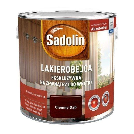 Sadolin Ekskluzywna lakierobejca 2,5L DĄB CIEMNY drewna