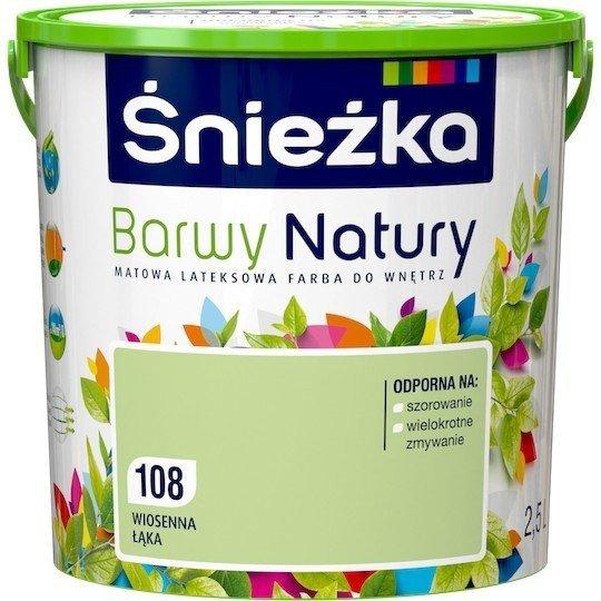 Śnieżka Barwy Natury 2,5L Wiosenna Łąka 108 Farba