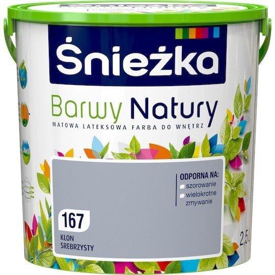 Śnieżka Barwy Natury 2,5L Klon Srebrzysty 167 Farba