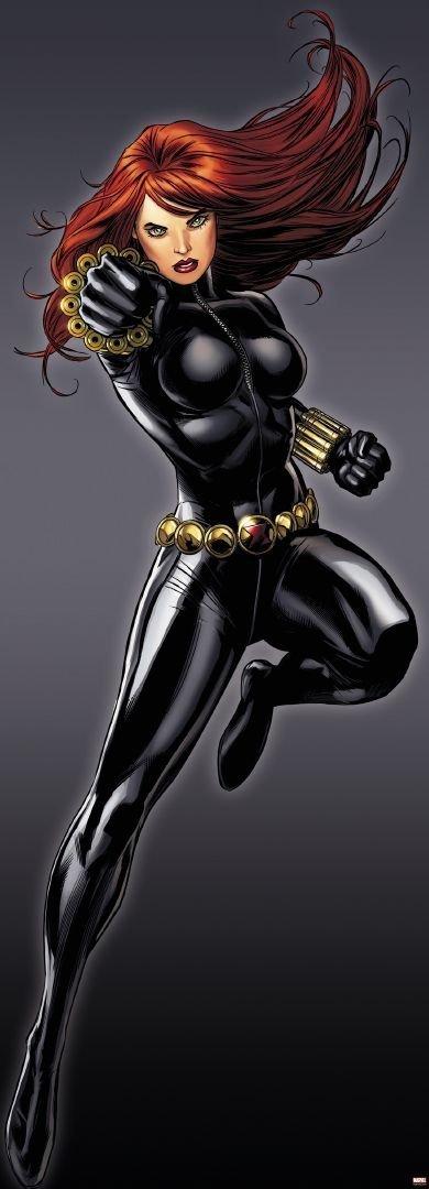 Fototapeta Dzieci 73x202 1-430 Black Widow Czarna Wdowa Marvel Avengers
