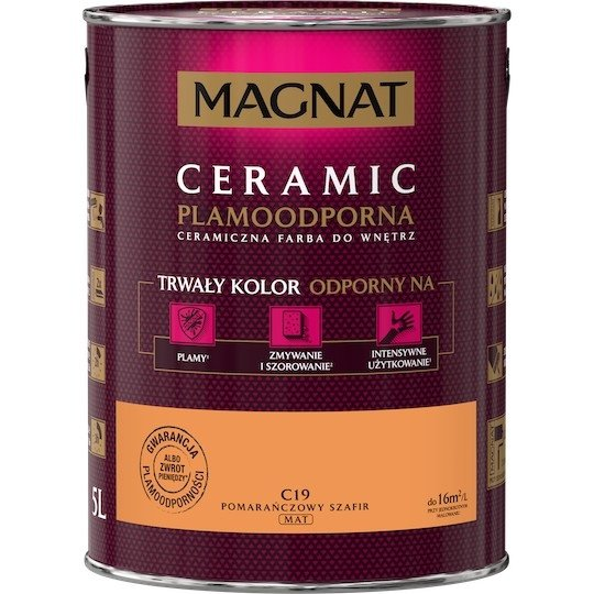MAGNAT Ceramic 5L C19 Pomarańczowy Szafir
