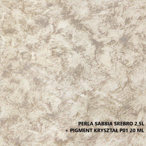 MAGNAT STYLE Perla Sabbia 2,5L Srebro Perła Sabia