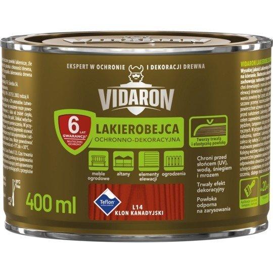 Vidaron Lakierobejca 0,4L L14 Klon Kanadyjski do drewna