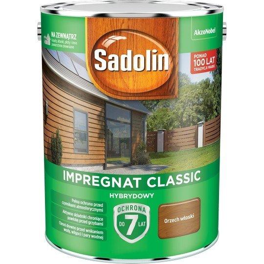 Sadolin Classic impregnat 4,5L ORZECH WŁOSKI 4 drewna clasic