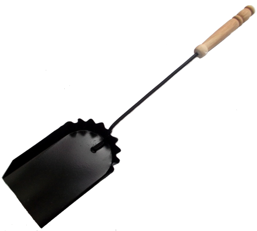 Łopatka pieca co węgla popiołu metalowa szufelka z drewnianą rączką do z1