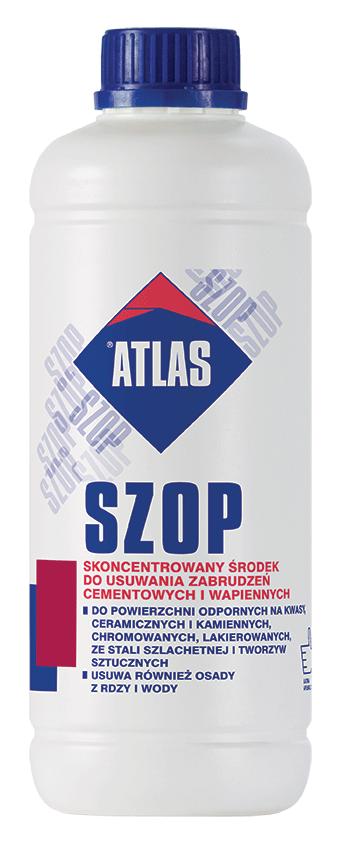 Atlas Szop usuwa-nia zabrudzeń 1kg 1L środek czyszczenia