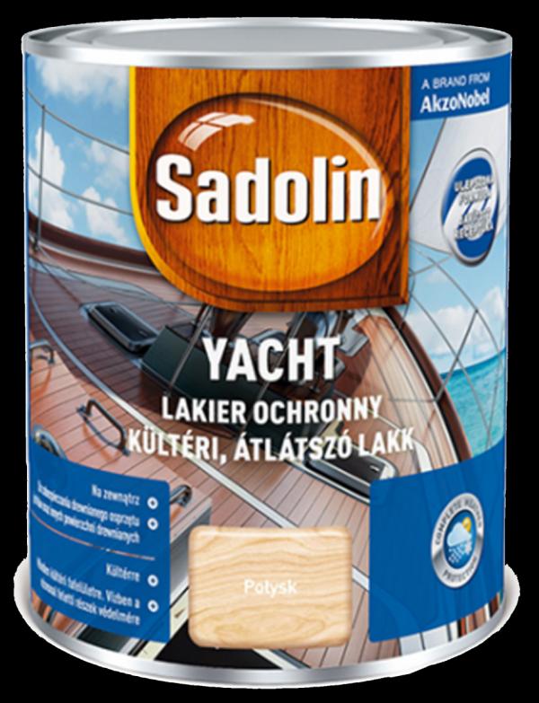 Sadolin Yacht lakier jachtowy 2,5L POŁYSK BEZBARWNY drewna