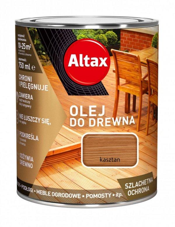 Altax olej do drewna 0,75L KASZTAN