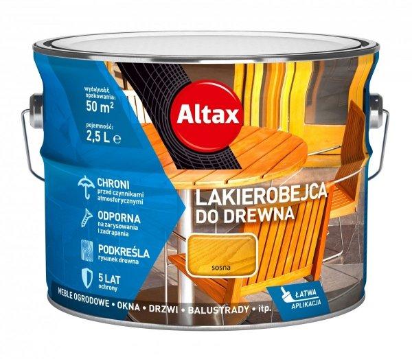 Altax Lakierobejca Drewna 2,5L SOSNA niebieska
