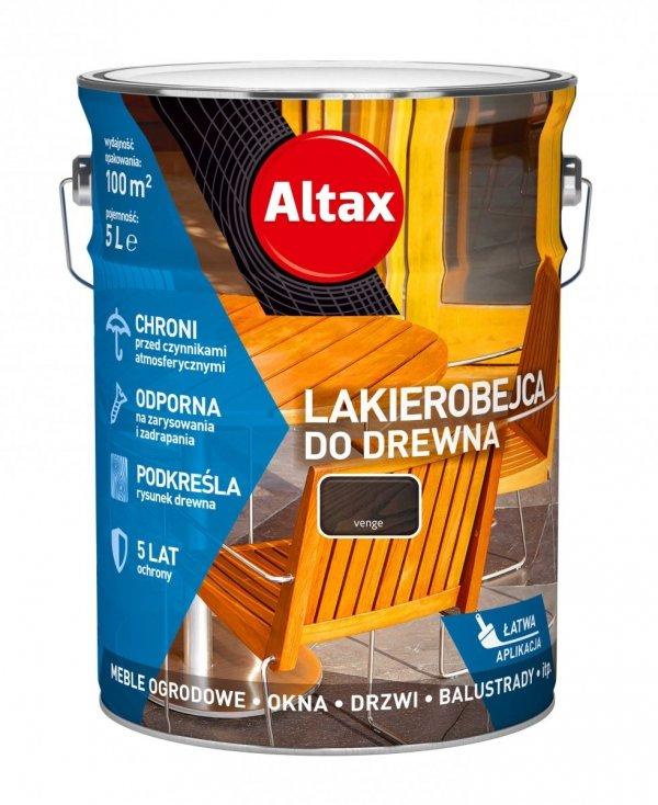 Altax Lakierobejca Drewna 5L WENGE VENGE niebieska