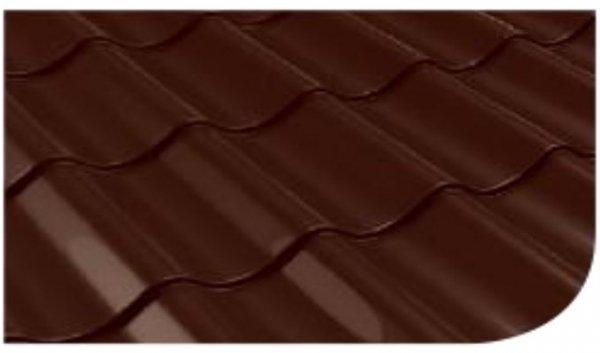 Śnieżka na dach farba Brązowy ciemny 10L RAL 8017