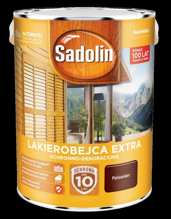 Sadolin Extra lakierobejca 5L PALISANDER 9 drewna