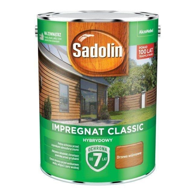 Sadolin Classic impregnat 4,5L DRZEWO WIŚNIOWE 88 drewna clasic