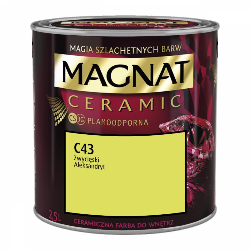 MAGNAT Ceramic 2,5L C43 Zwycięski Aleksandryt