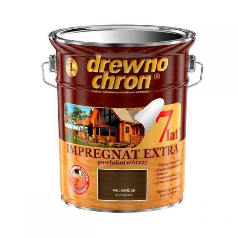 Drewnochron PALISANDER 4,5L Impregnat Extra drewna do