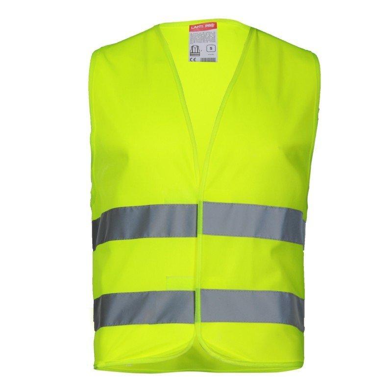 LAHTI PRO Kamizelka odblaskowa M żółta ostrzegawcza robocza