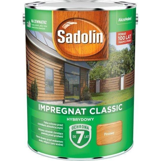 Sadolin Classic impregnat 4,5L PINIOWY PINIA 2 drewna clasic