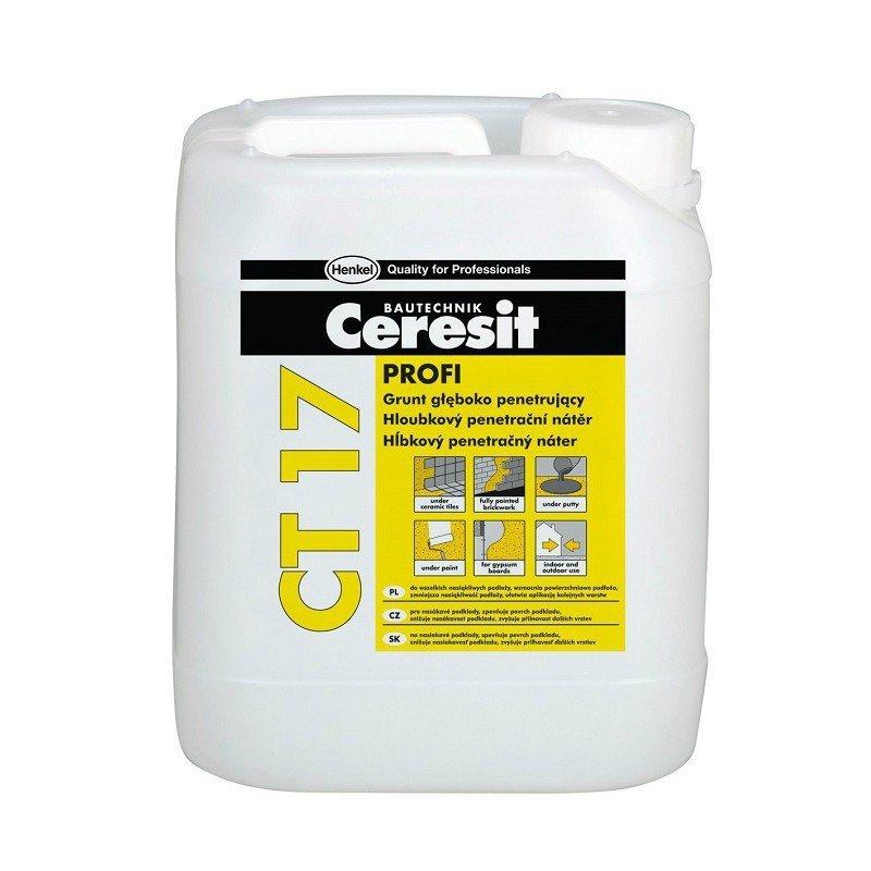 Ceresit Uni-Grunt CT-17 5L głęboko penetrujący mleczko ct17 Profi