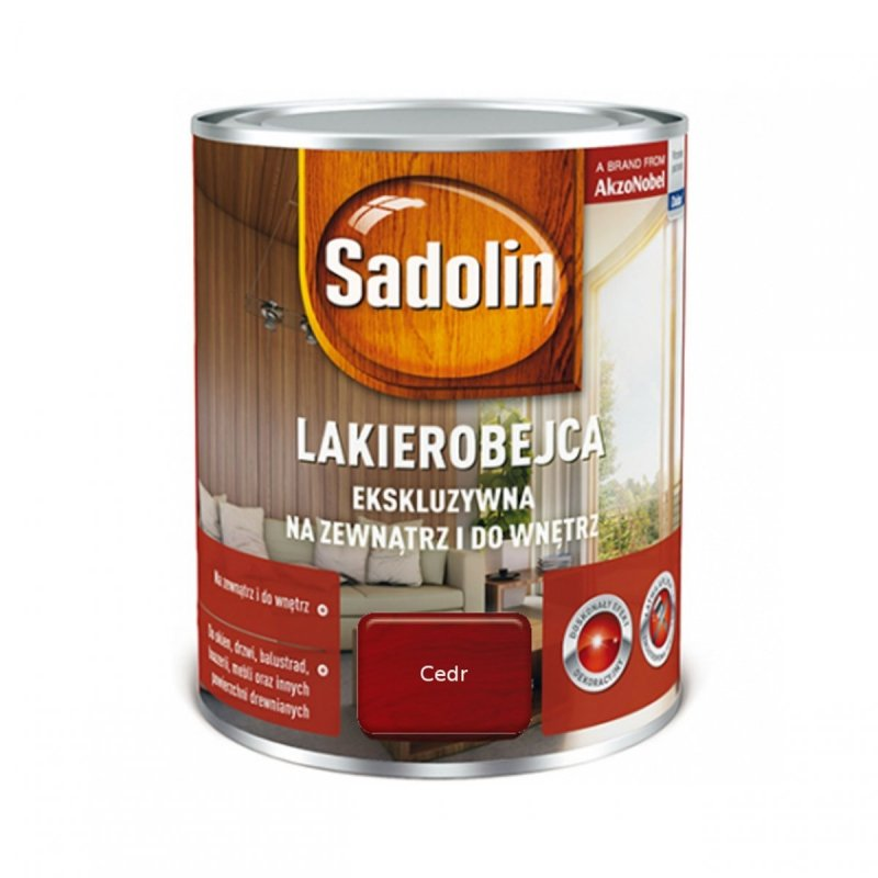 Sadolin Ekskluzywna lakierobejca 0,75L CEDR drewna
