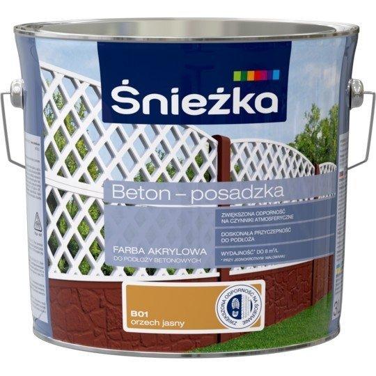 Śnieżka Beton Posadzka ORZECH JASNY B01 3L farba do betonu