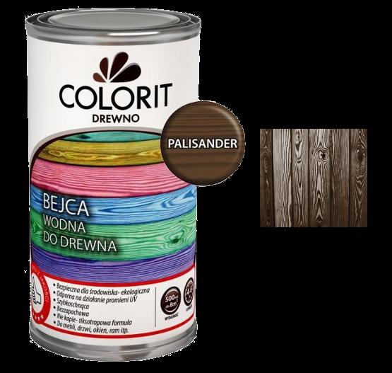 Colorit Bejca Wodna Do Drewna 0,5L PALISANDER 500ml do