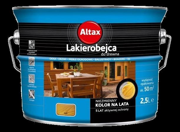 Altax Lakierobejca Drewna 2,5L DĄB niebieska