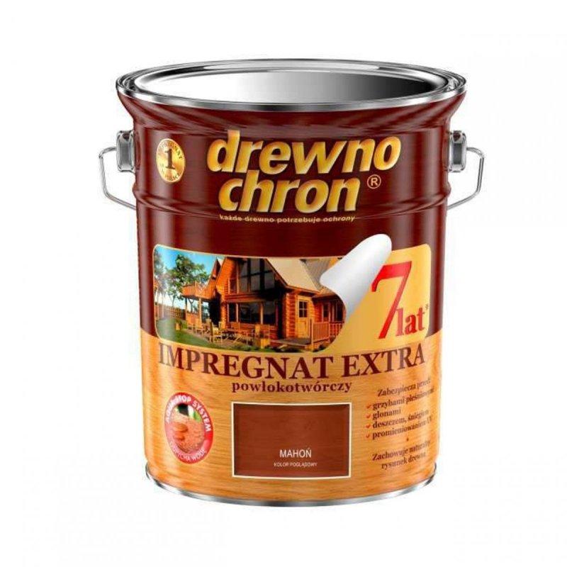 Drewnochron MAHOŃ 4,5L Impregnat Extra drewna do powłokotwórczy