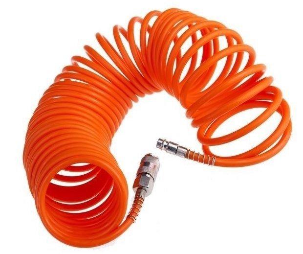Przewód wąż pneumatyczny 5m kompresora sprężarki spiralny