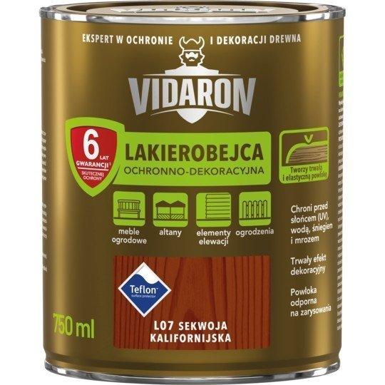 Vidaron Lakierobejca 0,75L L07 Sekwoja Kalifornijska do drewna