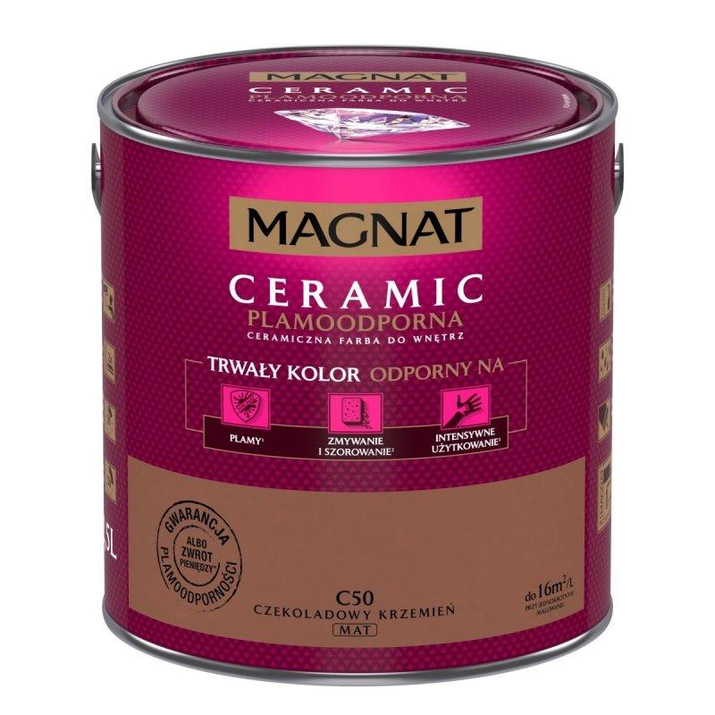 MAGNAT Ceramic 2,5L C50 Czekoladowy Krzemień