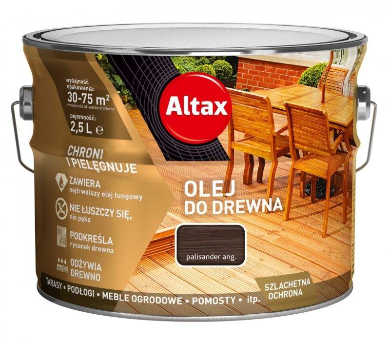 Altax olej do drewna 2,5L PALISANDER ANGIELSKI tarasów