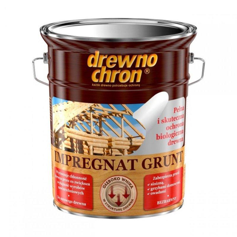 Drewnochron Bezbarwny Grunt R 4,5L impregnat drewna do