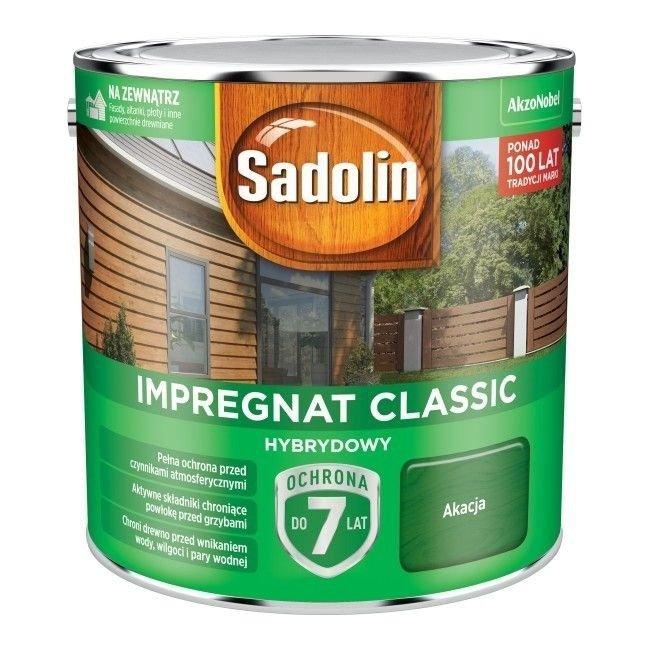 Sadolin Classic impregnat 2,5L AKACJA 52 drewna clasic