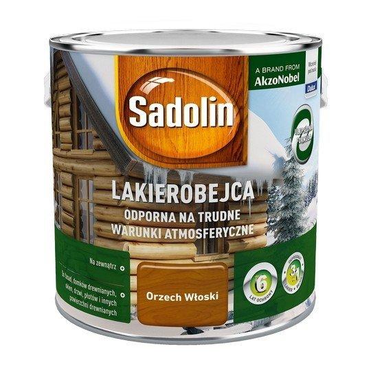 Sadolin Odporna lakierobejca 2,5L ORZECH WŁOSKI drewna