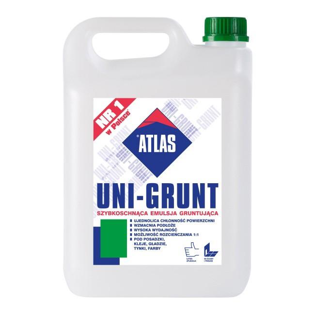 Atlas Uni-Grunt-ująca 5kg 5L emulsja mleczko