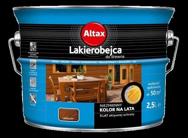 Altax Lakierobejca Drewna 2,5L PALISANDER niebieska