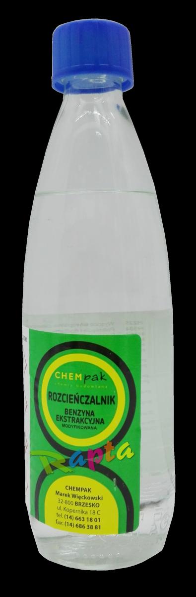 Benzyna ekstrakcyjna rozpuszczalnik 0,5L rozcieńczalnik ekstrakcyjny niskoaromatyczny Chempak