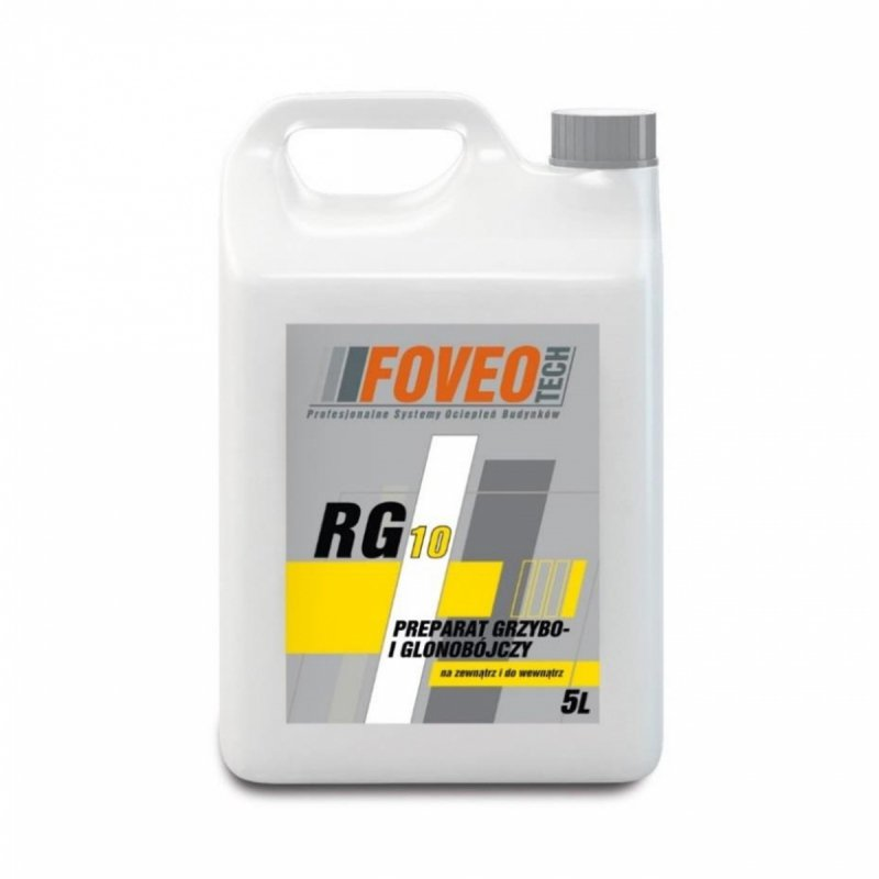 Foveo RG10 Preparat 5L Grzybobójczy Glonobójczy