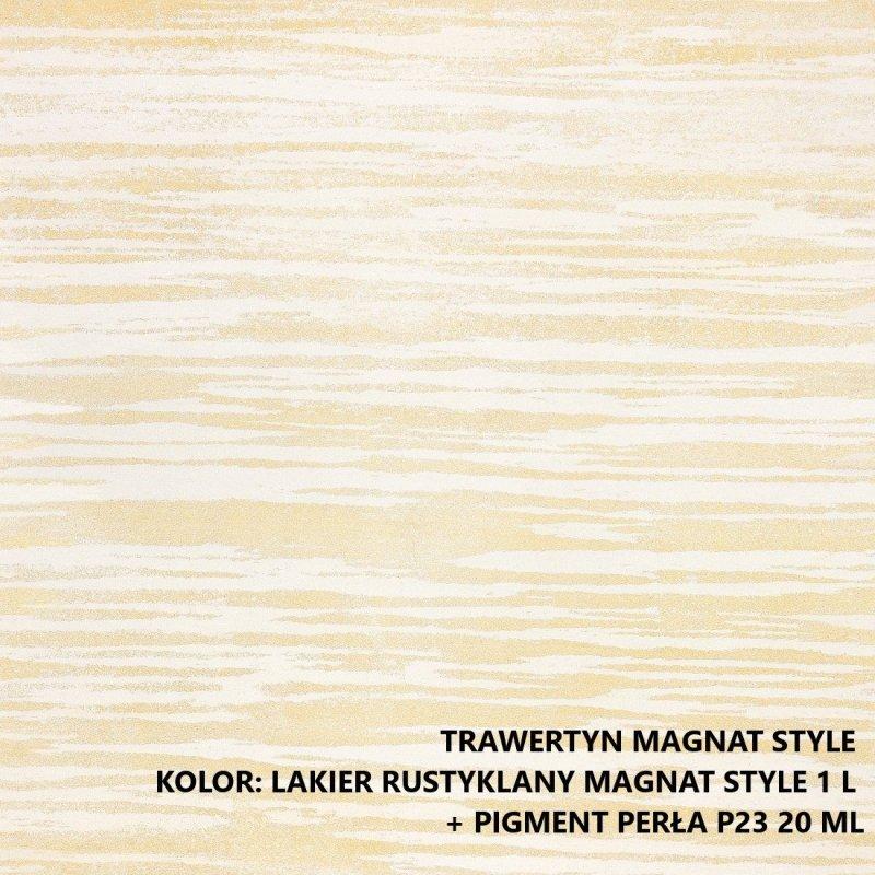 MAGNAT STYLE Trawertyn  1kg drobnoziarnisty tynk odważony