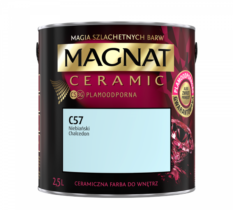 MAGNAT Ceramic 2,5L C57 Niebiański Chalcedon