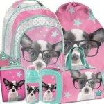 Plecak Szkolny Mega Zestaw w Pieski dla Dziewczyny [PTD-181]
